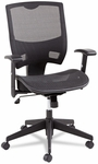 Alera® Epoch Series All Mesh Multifunction Mid-Back Chair - Black [ALEEP4218-FS-NAT]