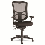 Alera® Elusion Series Mesh High-Back Multifunction Chair - Black [ALEEL41ME10B-FS-NAT]