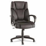 Alera® Fraze Series High-Back Swivel/Tilt Chair - Black Leather [ALEFZ41LS10B-FS-NAT]