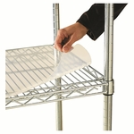 Alera® Shelf Liners For Wire Shelving - Clear Plastic - 36w x 24d - 4/Pack [ALESW59SL3624-FS-NAT]