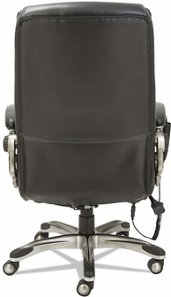 List Price   655 00Alera  Shiatsu Massage Office Chair with Padded Arms and Silver  . Silver Office Chair. Home Design Ideas