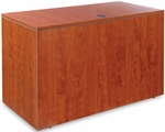 Alera® Valencia Series Reversible Return/Bridge Shell - 47 1/4w x 23 5/8d - Medium Cherry [ALEVA354824MC-FS-NAT]