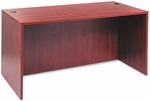 Alera® Valencia Series Straight Front Desk Shell - 59 1/8 x 29 1/2 x 29 1/2 - Med Cherry [ALEVA216030MC-FS-NAT]
