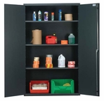 All-Welded Storage Cabinet with 3 Shelves [QSC-3IS-QSS]