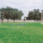 Alumnagoal® Aluminum Tubing Soccer Goal with Carrying Bag [STSGPTBG-FS-AC]