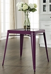 Amelia Metal Cafe Table in Purple [CF220130-PR-FS-CRO]