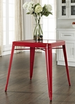 Amelia Metal Cafe Table in Red [CF220130-RE-FS-CRO]