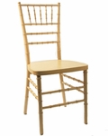 American Classic Natural Wood Chiavari Chair [B-CK-101-NAT-CSP]