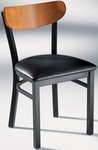 Americana Woods Chair Wood Back with Upholstered Seat [921-MTS]