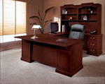 Andover Right Executive U Desk - Sherwood Mahogany [7462-78-FS-DMI]