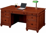 Antigua 72'' Executive Desk - West Indies Cherry [7480-36-FS-DMI]