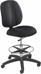 Apprentice II Ergonomically Supportive Extended Height Office Chair - Black [7083BL-FS-SAF]