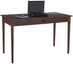 Apres™ 48'' W x 24'' D x 30'' H Table Desk with Storage Drawer - Mahogany [9446MH-FS-SAF]