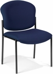 Manor Guest and Reception Chair - Navy Fabric [408-804-MFO]