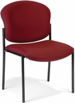 Manor Guest and Reception Chair - Wine Fabric [408-803-MFO]