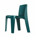 RazorBack Armless Intense Use 30'' H Stack Chair - Teal [86484T-CORT]