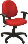 Array 24.5'' W x 22'' D x 35.5'' H Adjustable Height and Width Small Back Chair [E-21721-FS-EOF]