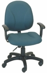 Array 24.5'' W x 22'' D x 38.25'' H Adjustable Height and Width Mid-Back Chair [E-21751-FS-EOF]