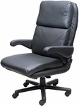 Atlantis Office Chair with Padded Headrest - Fabric [OF-ATLN-F-FS-ARE]