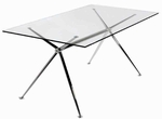 Atos 60'' Dining Table [02290A-02290G-FS-ERS]