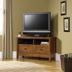 Select Collection 39.25''W Corner TV Stand - Oiled Oak [410627-FS-SRTA]