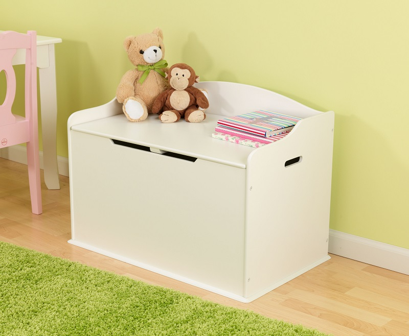 Austin Wooden Spacious Toy Box With Bench Seating Flip Top