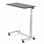 Height Adjustable Chrome-Plated Overbed Table [6417-FS-CARE]