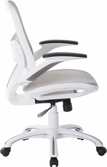 ave six riley mesh office chair - white, rly26-whoffice star