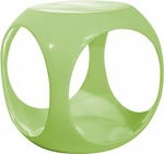 Ave Six Slick Modern Cube Occasional Table - Green [SLK36-FS-OS]