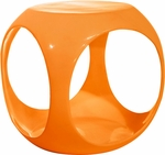 Ave Six Slick Modern Cube Occasional Table - Orange [SLK32-FS-OS]