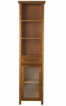 Avery Linen Cabinet with 1 Drawer and 3 open shelves [ELG-544-FS-EHF]