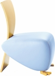 Baby Bobo Single Seat Lounge Chair with Wood Back [BO3149-FS-DV]