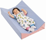 Quick Ship Multicolor Foam and Vinyl Baby Changer - 29''L x 18''W x 6''H [CF321-290-FS-CHF]