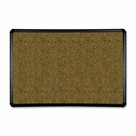 Balt Eco-friendly Black Splash Cork Board - 1''W X 36''D X 24''H [BLT300PBT1-FS-SP]