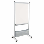 Balt Nest Easels - Double Sided - 31 -1/2'' x 24'' x 72'' - Silver [BLT37154-FS-SP]