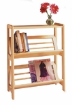 Basics 2 Shelf Folding Shelf [82430-FS-WWT]