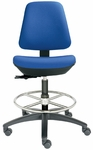 Basis I Medium Back Swivel Stool [BL1310-660N-FS-DV]