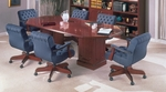 Bedford Traditional Octagonal Conference Table With Square Bases [TR-TOCT72-FS-HPF]