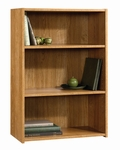 Beginnings 35.25''H Bookcase with Adjustable Shelves - Highland Oak [413322-FS-SRTA]