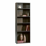 Beginnings 71.125''H Bookcase with Adjustable Shelves - Cinnamon Cherry [409090-FS-SRTA]
