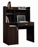 Beginnings 43''W x 53''H Wooden Desk and Hutch with Adjustable Shelving - Cinnamon Cherry [413084-FS-SRTA]
