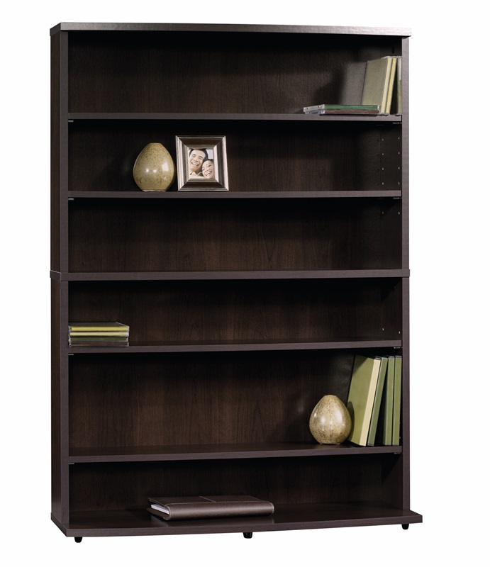Beginnings 29 39 39 W X 41 39 39 H Wooden Multimedia Storage Tower With 4 Adjustable Shelves Cinnamon