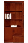 Belmont Bookcase - Brown Cherry [7132-09-FS-DMI]