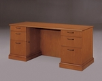 Belmont Credenza with Full Return Base Mouldings - Executive Cherry [7130-23-FS-DMI]