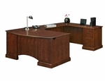 Belmont Executive Right U with Corner Desk [7132-847-FS-DMI]