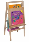 Big Book Easel and Hanging Storage Unit - 24''W x 24''D x 48''H [29200-WDD]