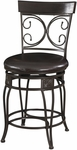 Big & Tall Back to Back Scroll Counter Stool [938-918-FS-PO]