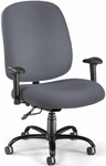 Big & Tall Task Chair with Arms - Gray [700-AA6-239-FS-MFO]