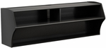 Altus Wall Mounted 48.5''W Audio/Video Console with 3 Open Storage Compartments - Black [BCAW-0200-1-FS-PP]