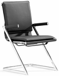 Lider Plus Conference Chair in Black [215210-FS-ZUO]